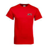 Red T Shirt-Arched GWU