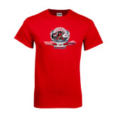 Red T Shirt-Gardner Webb vs Liberty