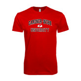 SoftStyle Red T Shirt-Arched Gardner-Webb University