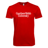 SoftStyle Red T Shirt-Gardner-Webb University