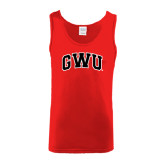 Red Tank Top-Arched GWU