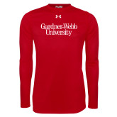 Under Armour Red Long Sleeve Tech Tee-Gardner-Webb University