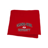 Red Sweatshirt Blanket-Arched Gardner-Webb University