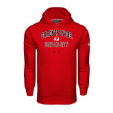 Under Armour Red Performance Sweats Team Hoodie-Arched Gardner-Webb University