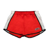 Ladies Red/White Team Short-Arched GWU