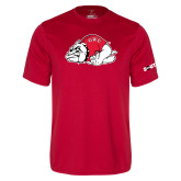 Performance Red Tee-Bulldog