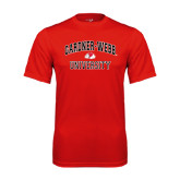 Syntrel Performance Red Tee-Arched Gardner-Webb University