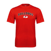 Syntrel Performance Red Tee-Arched Bulldogs