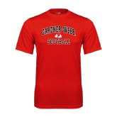 Syntrel Performance Red Tee-Football