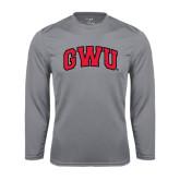 Syntrel Performance Steel Longsleeve Shirt-Arched GWU