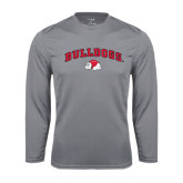 Syntrel Performance Steel Longsleeve Shirt-Arched Bulldogs