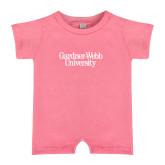 Bubble Gum Pink Infant Romper-Gardner-Webb University