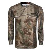 Realtree Camo Long Sleeve T Shirt w/Pocket-Gardner-Webb University