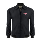 Black Players Jacket-Arched Bulldog