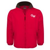 Red Survivor Jacket-GW Primary Logo
