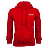 Red Fleece Hoodie-Gardner-Webb University