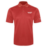 Under Armour Red Performance Polo-Gardner-Webb University
