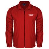 Full Zip Red Wind Jacket-Gardner-Webb University