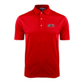 Red Dry Mesh Polo-Arched GWU