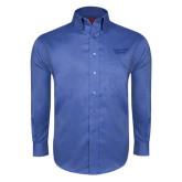 Red House French Blue Long Sleeve Shirt-Gardner-Webb University
