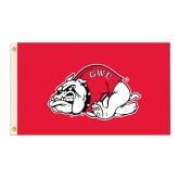 3 ft x 5 ft Flag-Bulldog