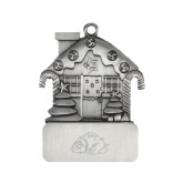 Pewter House Ornament-Bulldog Engraved