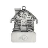Pewter House Ornament-Bulldog Engraved