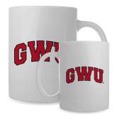 Full Color White Mug 15oz-Arched GWU