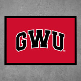 Full Color Indoor Floor Mat-Arched GWU