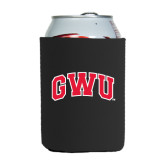 Collapsible Black Can Holder-Arched GWU