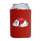 Collapsible Red Can Holder-Bulldog