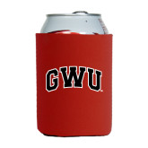 Collapsible Red Can Holder-Arched GWU