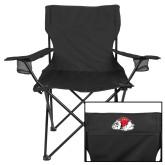 Deluxe Black Captains Chair-Bulldog