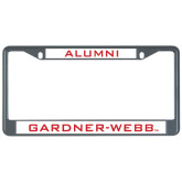 Alumni Metal License Plate Frame in Black-Alumni