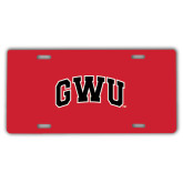 License Plate-Arched GWU
