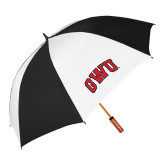 62 Inch Black/White Umbrella-Arched GWU
