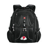 Wenger Swiss Army Mega Black Compu Backpack-Bulldog