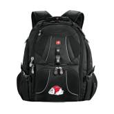 Wenger Swiss Army Mega Black Compu Backpack-Bulldog