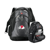 Wenger Swiss Army Tech Charcoal Compu Backpack-Bulldog