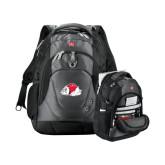 Wenger Swiss Army Tech Charcoal Compu Backpack-Bulldog