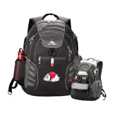 High Sierra Big Wig Black Compu Backpack-Bulldog