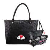 Sophia Checkpoint Friendly Black Compu Tote-Bulldog