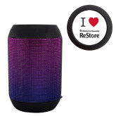 Disco Wireless Speaker/FM Radio-I Heart Restore