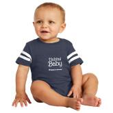 Vintage Navy Jersey Onesie-Habitat Baby