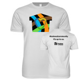 Next Level SoftStyle White T Shirt-Beloved Community
