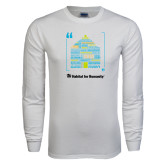 White Long Sleeve T Shirt-Love Opportunity Partnership