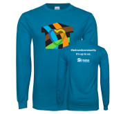 Sapphire Long Sleeve T Shirt-Beloved Community