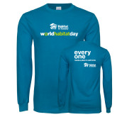 Sapphire Long Sleeve T Shirt-World Habitat Day