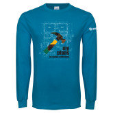 Sapphire Long Sleeve T Shirt-My Plans For Making A Difference
