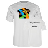 Performance White Tee-Beloved Community
